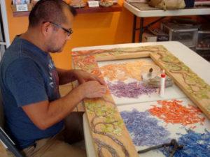 Picture of Mosaic Artist Rodolfo Rosas Hernandez