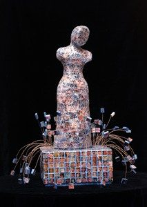 Picture of Mosaic and Mixed_Media Sculpture